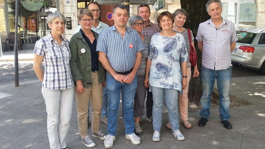 Une partie des candidats et suppléants LO en Isère