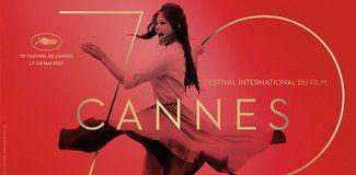 L''affiche du festival de cannes 70 ème édition