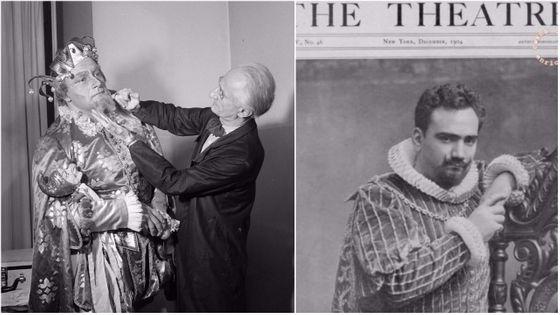 Rigoletto, 17ème opéra de Verdi, et la légende de ses interprètes : Leonard Warren (à gauche, dans le rôle-titre) et Enrico Caruso, pour ses premiers pas au Met dans le rôle du Duc de Mantoue...