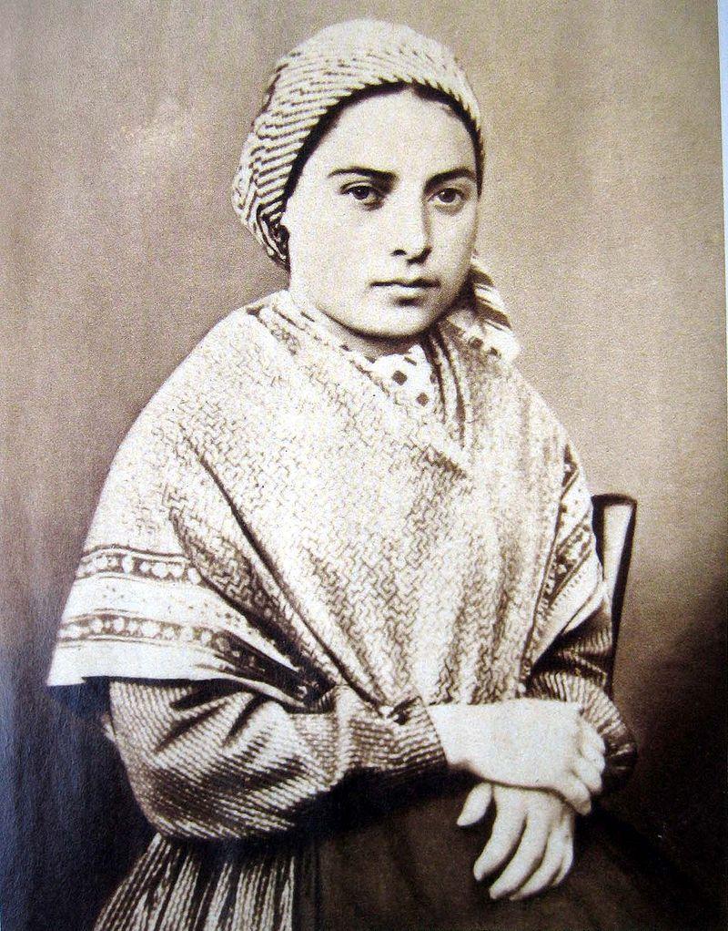 Bernadette Soubirous enfant