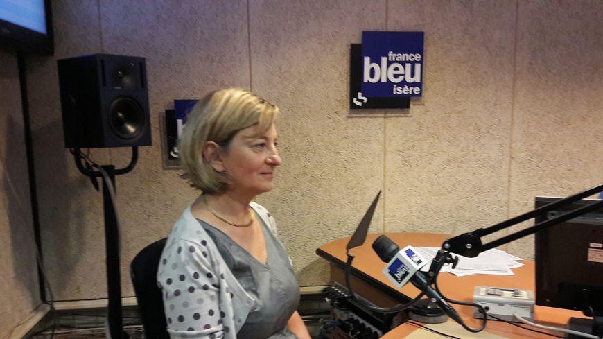 Anne-Catherine Ohlmann, directrice de la fondation de l'UGA et  en charge du projet Ice Memory