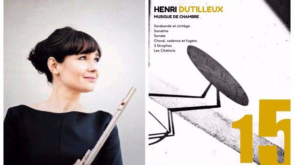 Magali Mosnier, première flûte solo du Philhar' présente un album dédié à la musique de chambre d'Henri Dutilleux