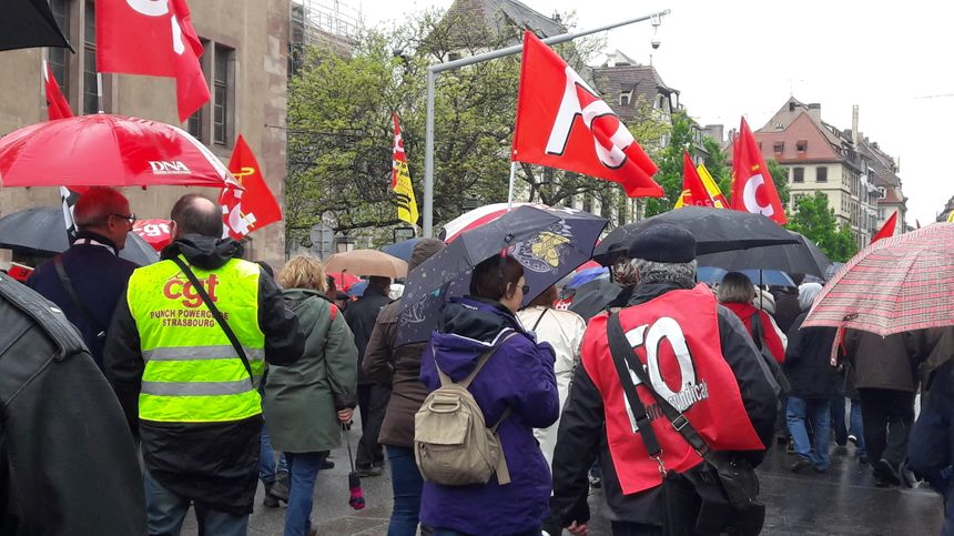 Manifestation le 1er mai 2017 à Strasbourg