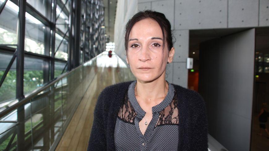 Laëtitia, 32 ans, au deuxième jour de son procès aux assises de Grenoble.
