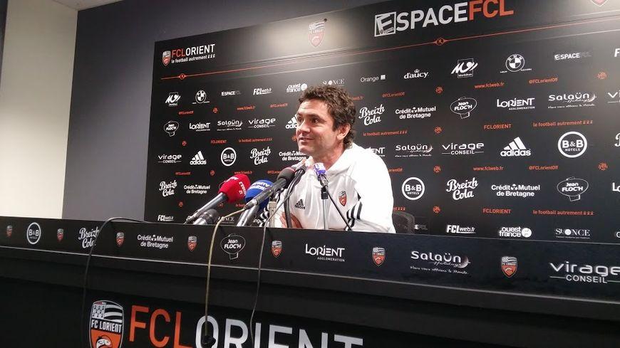 Sylvain Ripoll a officié longtemps au club lorientais, en tant que joueur, adjoint puis entraîneur.