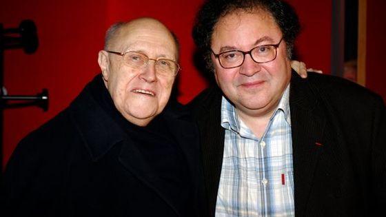 Frédéric Lodéon et Mstislav Rostropovitch