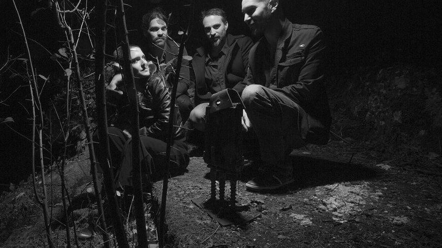"""Membres du groupe Klone. En tournée pour présenter """"Unplugged tour"""" et présent au Festival Culture Métal de Guéret (23)"""