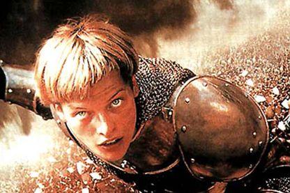 Détail de l'affiche de Jeanne d'Arc