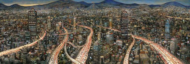 Mexico, dessin de Nicolas de Crécy