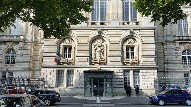 Le palais de justice de Saint Quentin