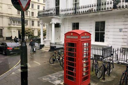 dans le centre de Londres