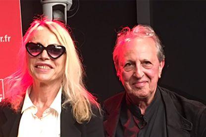 Laure Adler et Maurice Olander
