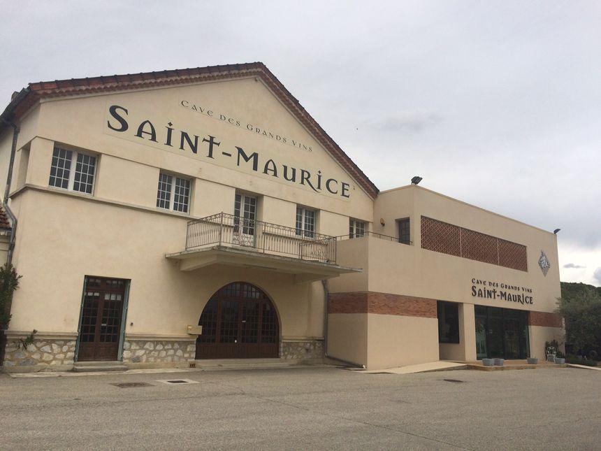La Cave Coopérative des Coteaux de Saint-Maurice.