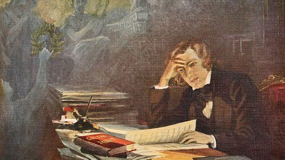 Robert Schumann a fini sa vie dans un asile