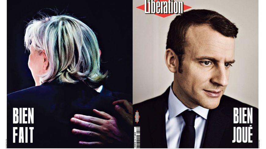 La une de Libération ce lundi 7 mai.