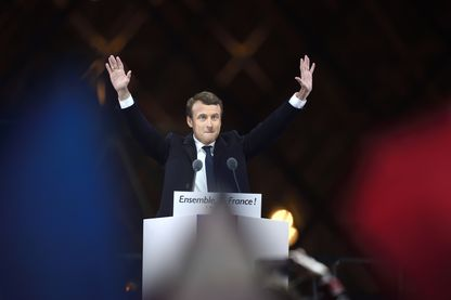 Emmanuel Macron le 7 mai 2017