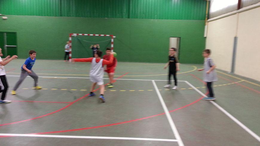 le handball à Veretz