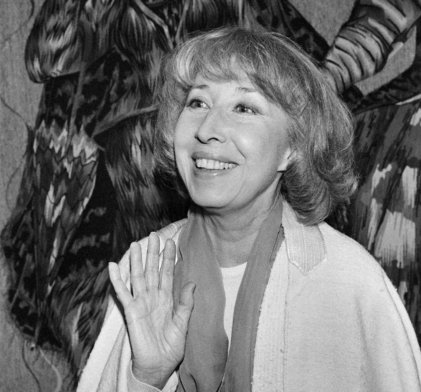 Cora Vaucaire, en 1979 à Paris