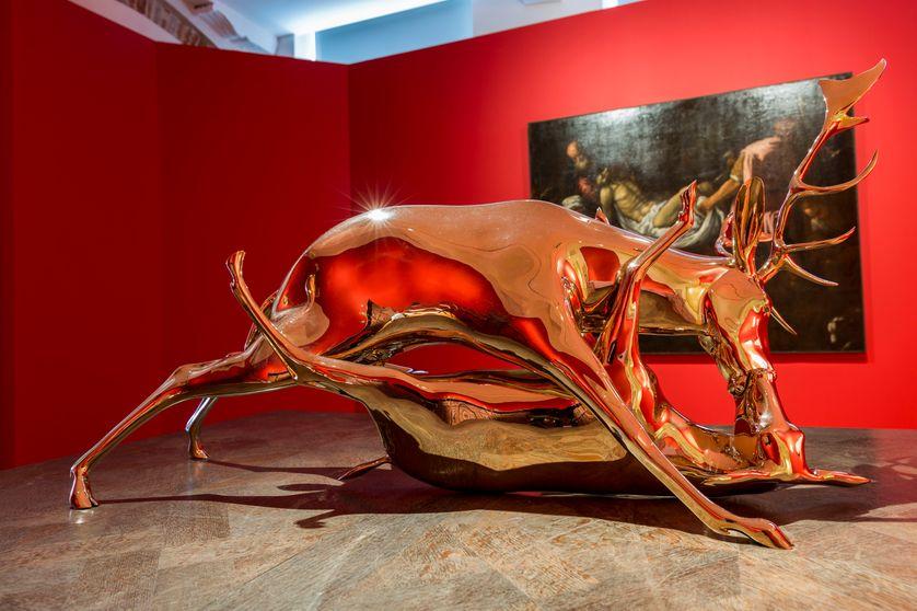 """Wim Delvoye, """"Trophy"""", 2010, Studio Wim Delvoye"""