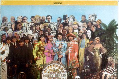 """Couverture de l'album """"Sgt. Pepper's Lonely Hearts Club Band"""""""