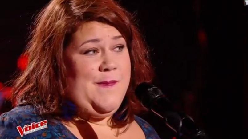Audrey est qualifiée pour la demi-finale de The Voice.