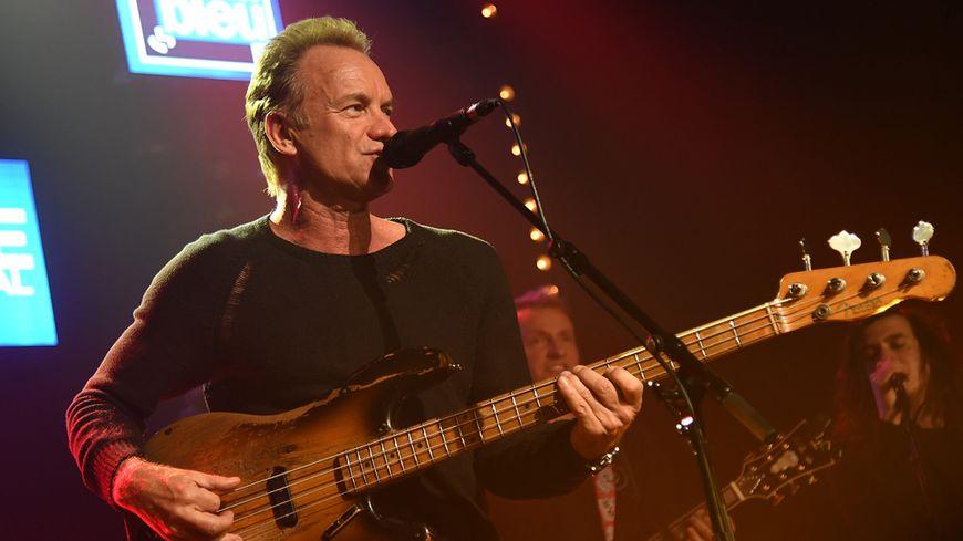 Sting depuis le France Bleu Live Festival d'Avoriaz