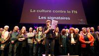 Le monde de la culture uni pour faire barrage au FN