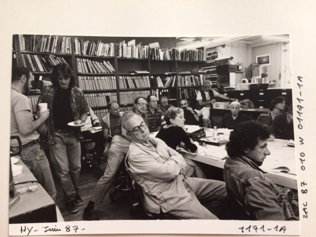 Meeting de Magnum en 1987
