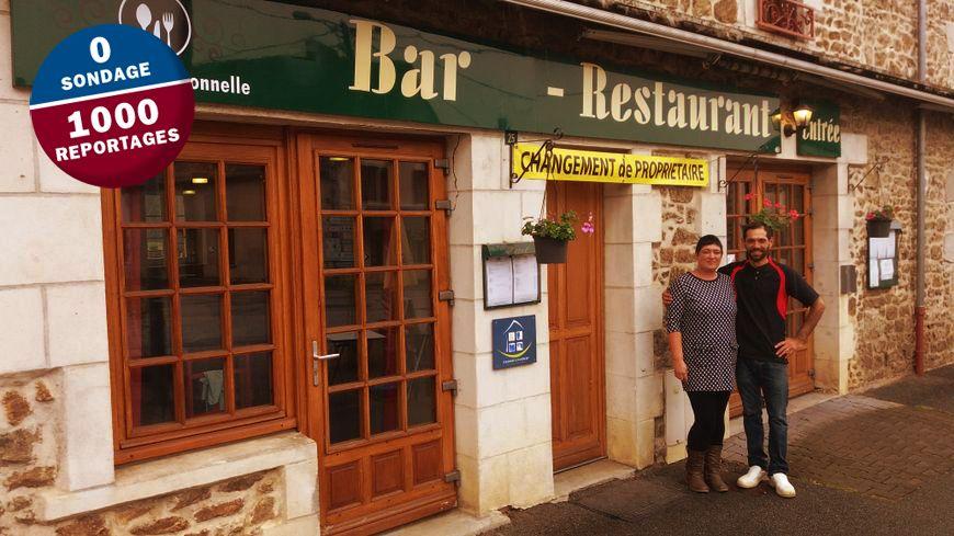 Emeric et Suzy Chenaux sont les nouveaux propriétaires de l'auberge Sainte-Radegonde, à Budelière.