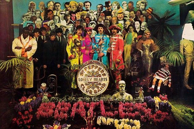 Pochette de l'album Sgt. Pepper's lonely hearts club band, 1967