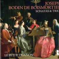 Sonate n°5 en la min op 37 : Vivace - pour flûte traversière/violon violoncelle et basse continue