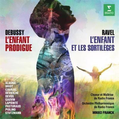 CD Debussy L'enfant prodigue/Ravel L'enfant et les sortilèges (Erato)