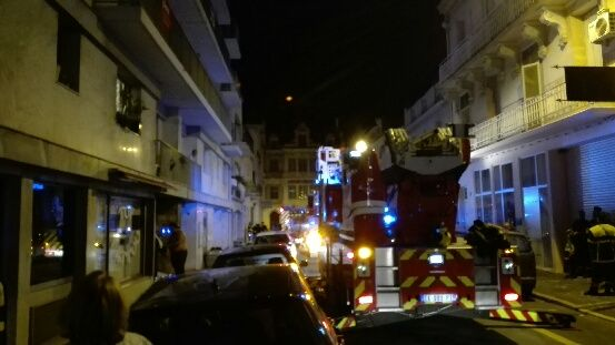 Les pompiers ont été appelés vers 1h du matin dans la nuit de mercredi à jeudi