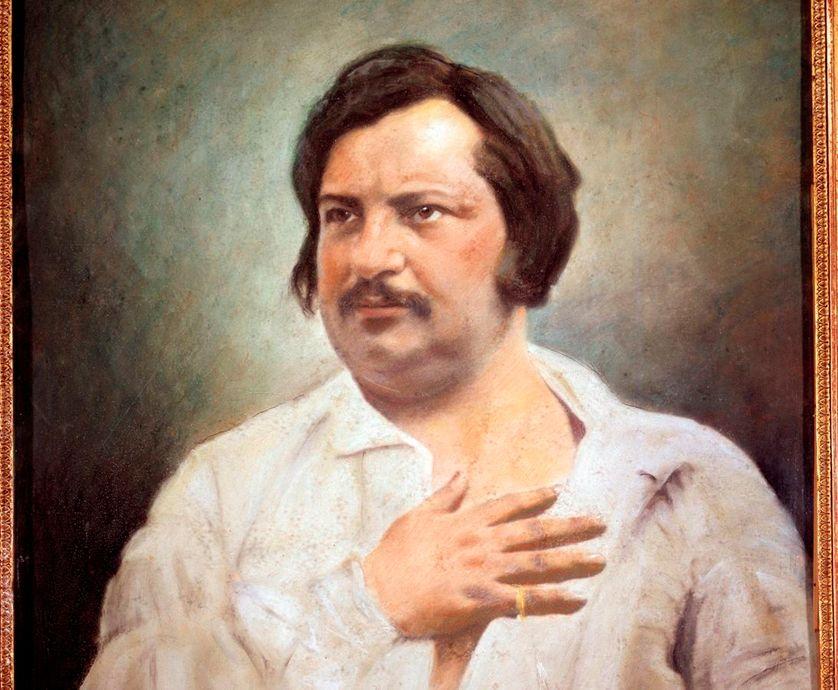Honoré de Balzac (1799 - 1850). Daguerréotype de Nadar réhaussé au Pastel par lui même. Paris, Maison Balzac