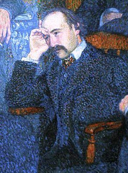Portrait d'André Gide par Théo van Rysselberghe