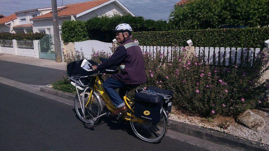 Yannick Delaroche roule à présent sur la route.