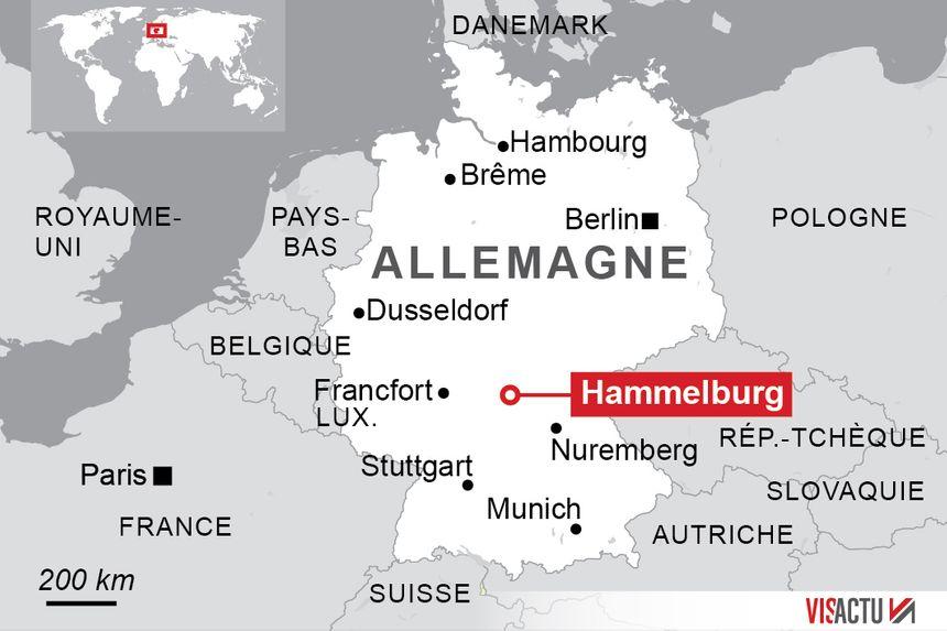 Le militaire a été arrêté à Hammelburg en Bavière.
