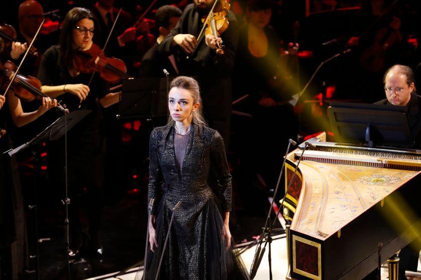 Léa Desandre aux Victoires de la musique classique 2017