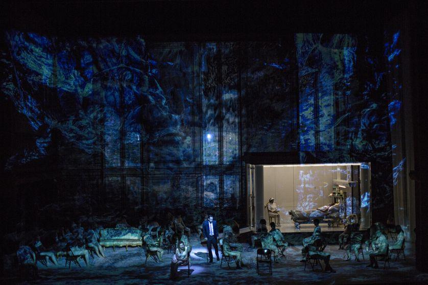 """photo de l'opéra """"Alceste"""" à l'Opéra de Lyon"""