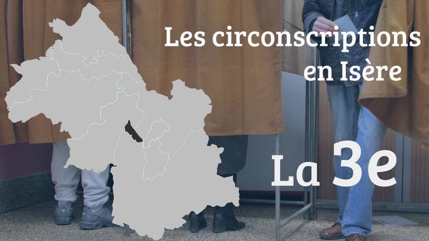 La 3e circonscription législative est la plus petite en Isère