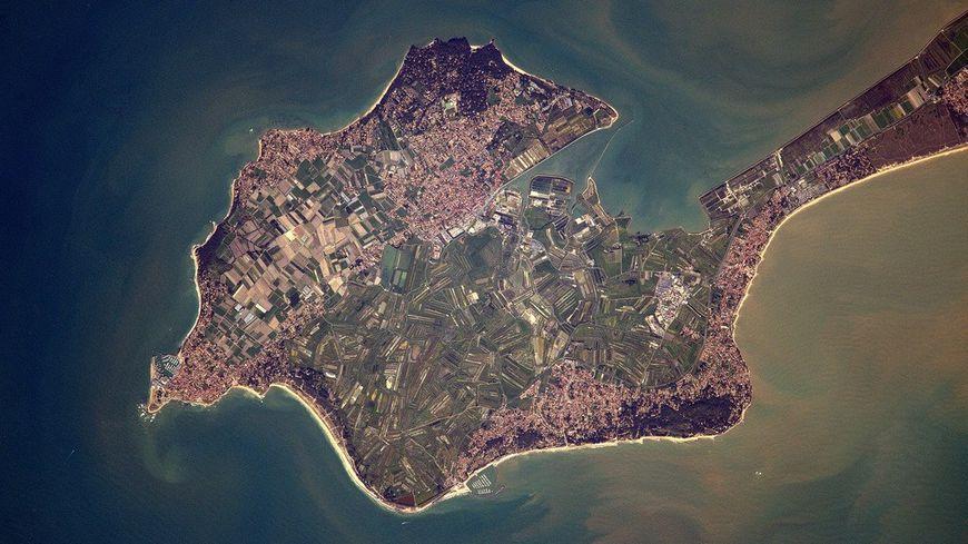 Noirmoutier vue de l'espace !