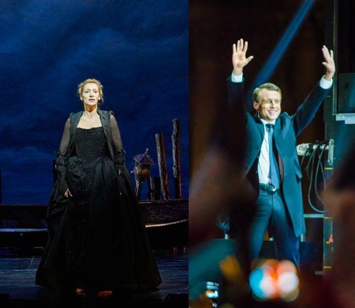 Elsa Lepoivre // Emmanuel Macron le 7 mai