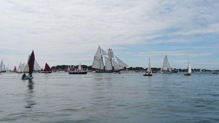La Recouvrance, bateau ambassadeur de la ville de Brest.