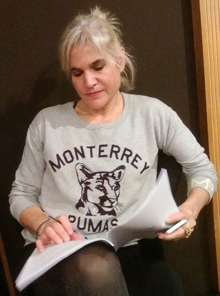 La scénariste Manuelle Calmat