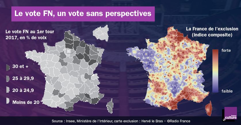 Le vote FN, un vote sans perspectives
