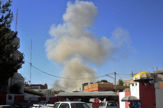 Un camion piégé explose à Kaboul : des dizaines de morts