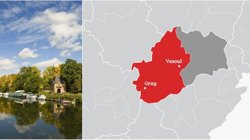 La 1re circonscription de Haute-Saône couvre notamment Vesoul et Gray.