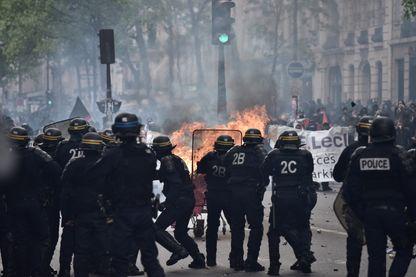 Manifestations du premier mai 2017 à Paris