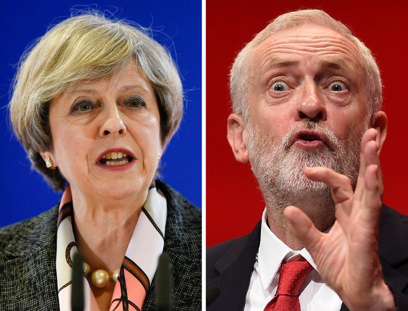 Theresa May / Jeremy Corbyn