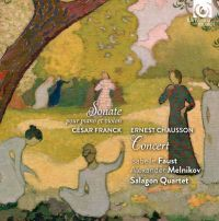 Isabelle Faust, Alexander Melnikov, Salagon Quartet